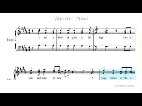 Who Am I  [Piano Solo]
