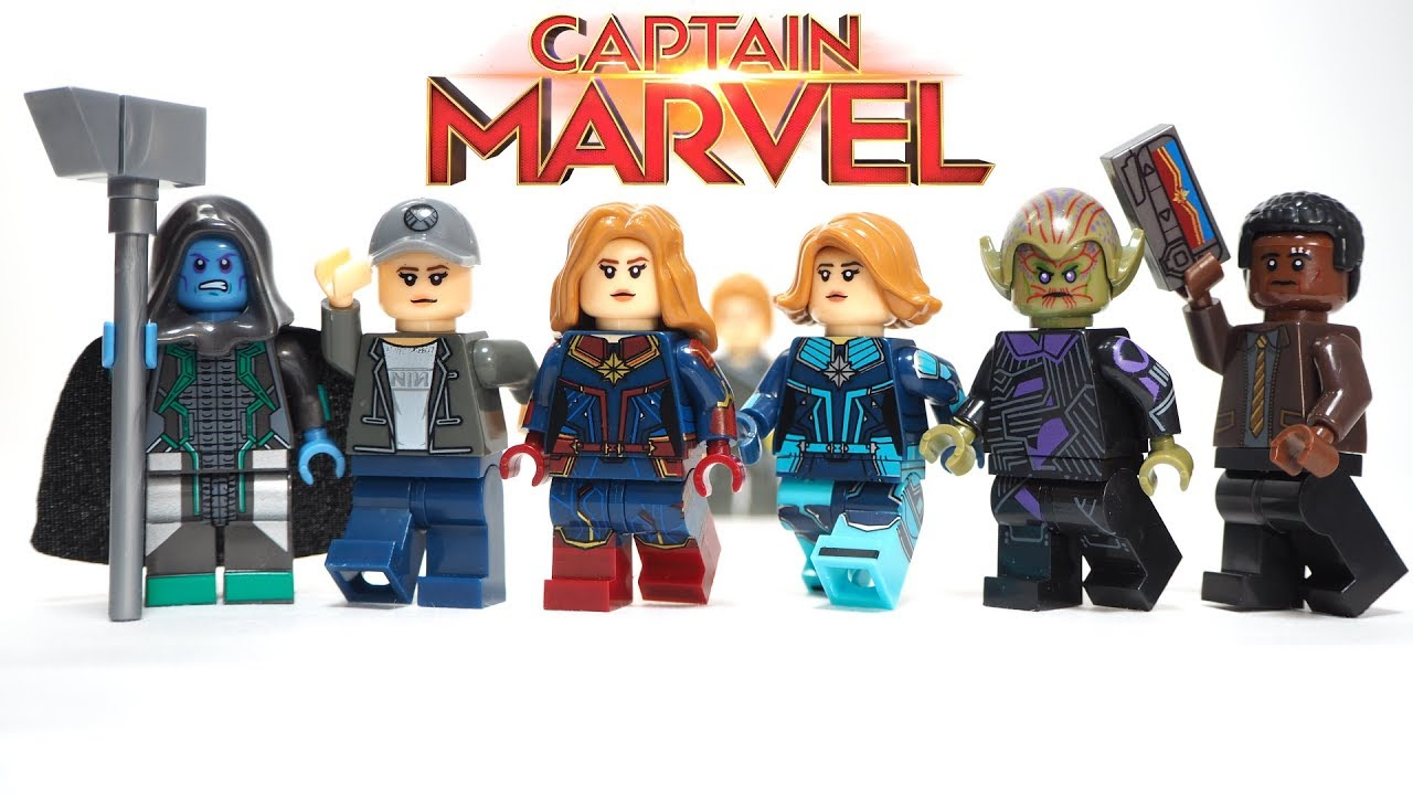 Endgame 76131 Captain Marvel minifigure LEGO Marvel Avengers NEW!