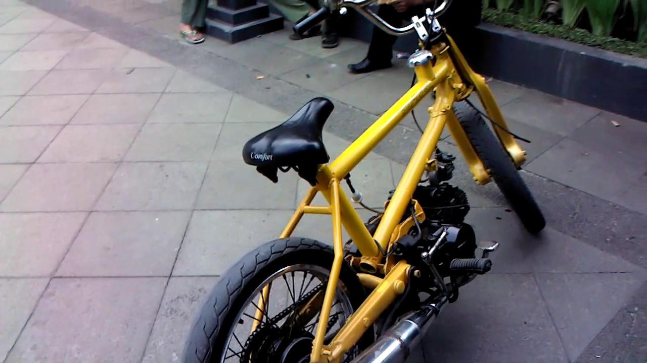 Modifikasi Motor Jadi Sepeda Bmx Terlengkap | Kumpulan