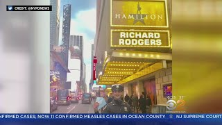 NYPD Officer Helps Tourist Buy Hamilton Ticket
