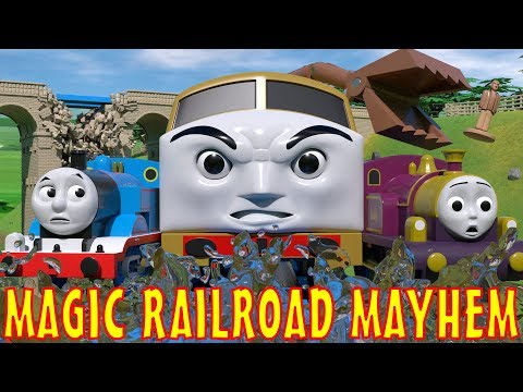 TOMICA Thomas and Friends Short 50: Magic Railroad Mayhem (TATMR Chase Parody)