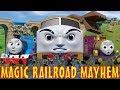 TOMICA Thomas and Friends Short 50: Magic Railroad Mayhem (TATMR Chase Parody)