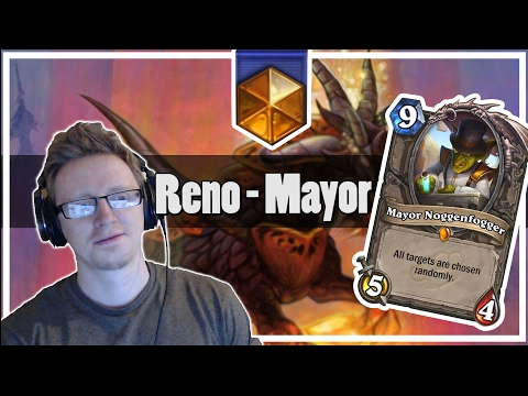 Hearthstone: Reno Mayor Noggenfogger - Where Is Face?