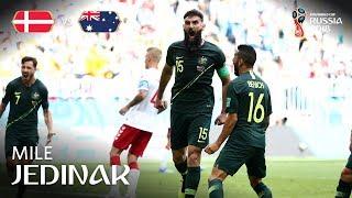Mile JEDINAK Goal - Denmark v Australia - MATCH 22