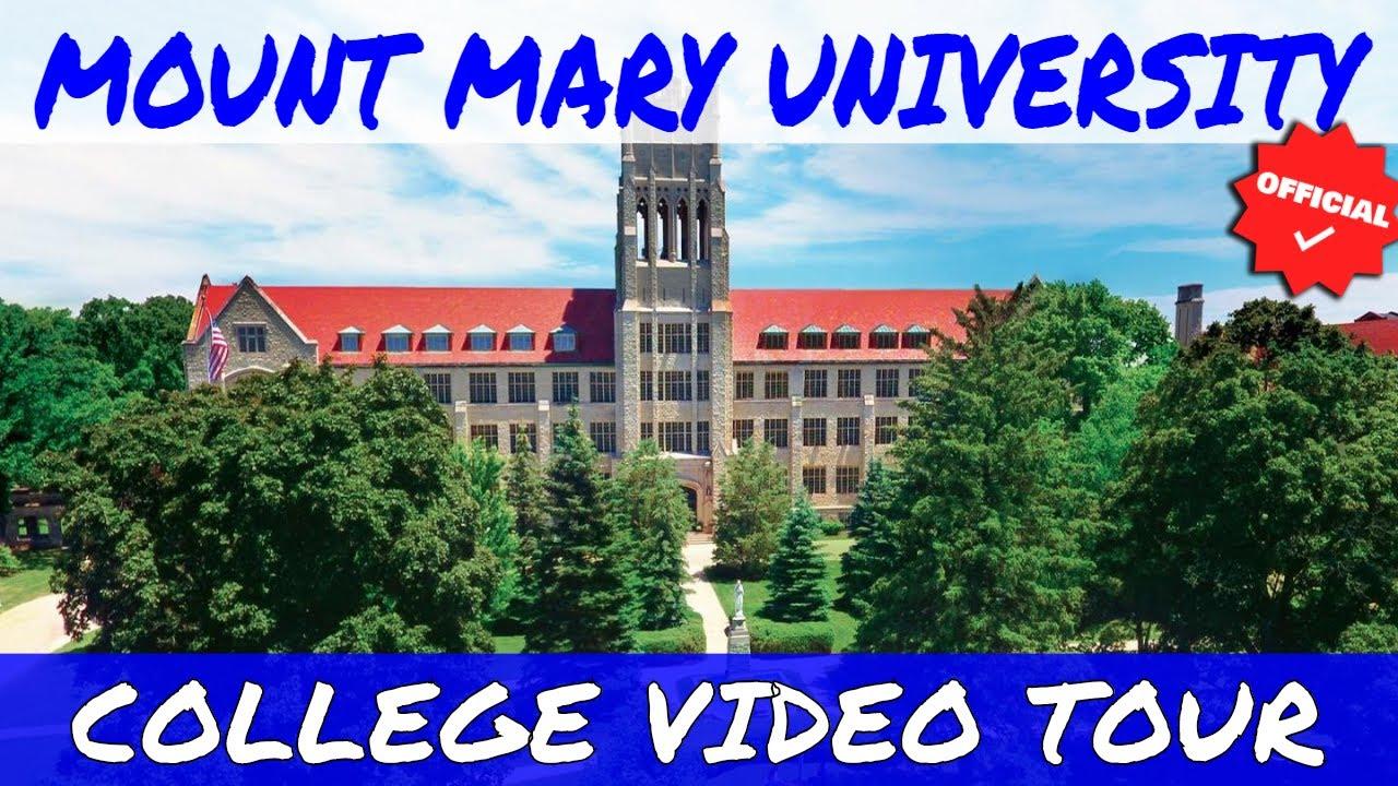 Mount Mary University >> Mount Mary University Official College Video Tour