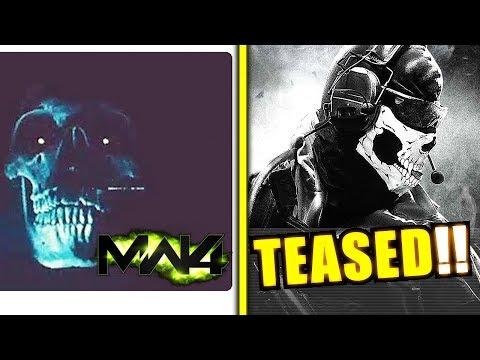 "MW4 OFFICIAL TEASER ""Ghost is Back"" - Modern Warfare 4 Teaser by Infinity Ward"