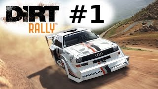 Lets Play DiRT RALLY PS4/ONE/PC Gameplay German Deutsch Part 1 - Einführung: Alle Autos, erste Rally