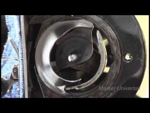 Швейная машина Подольская. Как сделать регулируемый челнок. Видео№88.