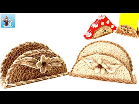 Handmade Table Decorations with Jute |Twine| Art and Craft Ideas