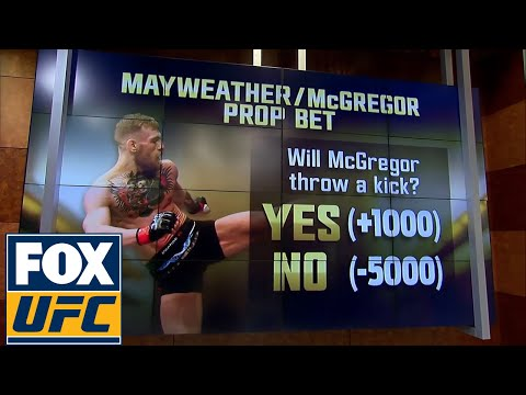 Floyd Maywather vs Conor Mcgregor - Here is what you can bet on | UFC TONIGHT