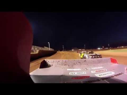 Dillan Randall Lawton Speedway heat race 8-25-18