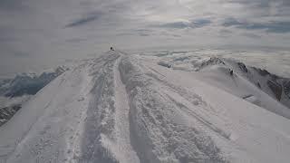 Пик Монблан (4810м). Выход на вершину.