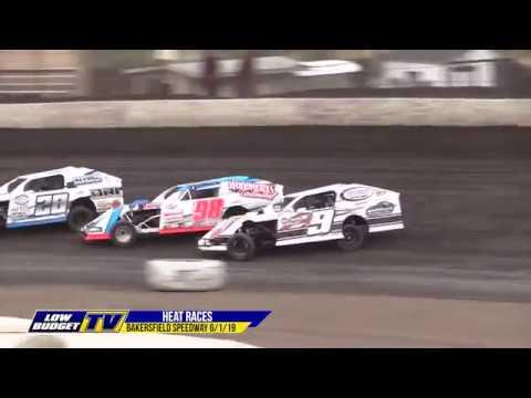Heat Races: Bakersfield Speedway 6-1-19