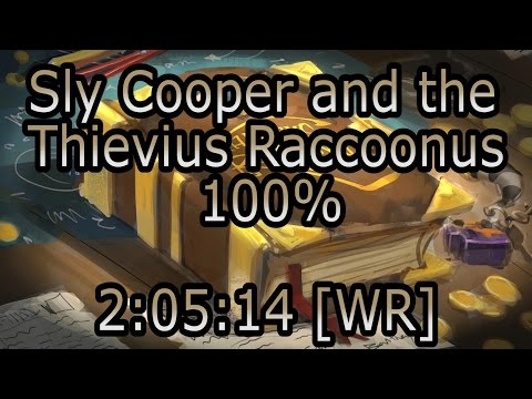 Sly Cooper and the Thievius Raccoonus - 100% Speedrun in 2:05:14 [Former WR]