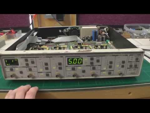 Stanford Research Systems SR650 Dual Channel Filter Repair - Part 1
