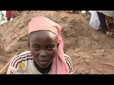 Gold and diamond mining in CAR fueling conflict