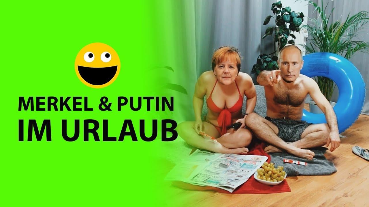 ?Merkel & Putin machen zusammen Urlaub...