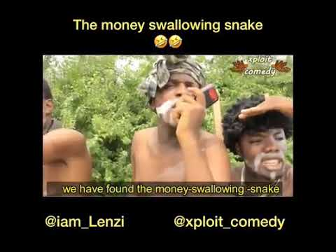 Download The snake that swallows cash