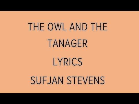 The Owl and The Tanager - Sufjan Stevens (Lyrics)