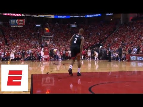 Chris Paul injures hamstring late in Game 5 of Rockets vs. Warriors, could miss Game 6 | ESPN