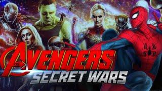 AVENGERS 5 SECRET WARS / Spider-Man en Avengers 5 / Traje Negro