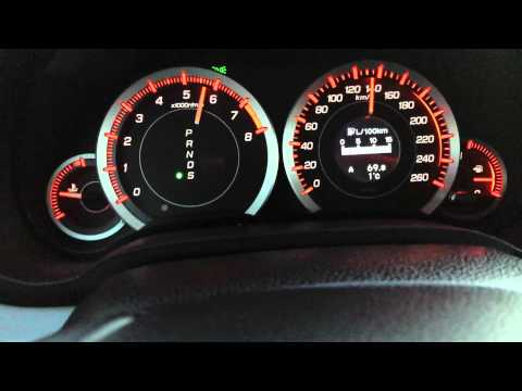 Honda Accord VIII 2.4 ACCELERATION!!! 0-190
