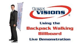 Backpack Walking Billboard Setup