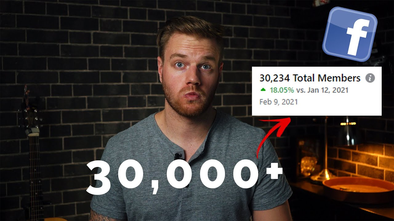 How I Grew a 30,000+ Member Facebook Group from Scratch