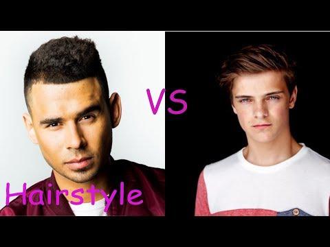 Afrojack hairstyle vs Martin garrix hairstyle (2018)