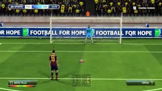 FIFA 14 - PC - GAMEPLAY - Una lotta senza FINE - [CHiPZz VS Luke4316]