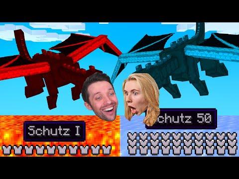 Benx Drache VS. Elina Drache! Minecraft