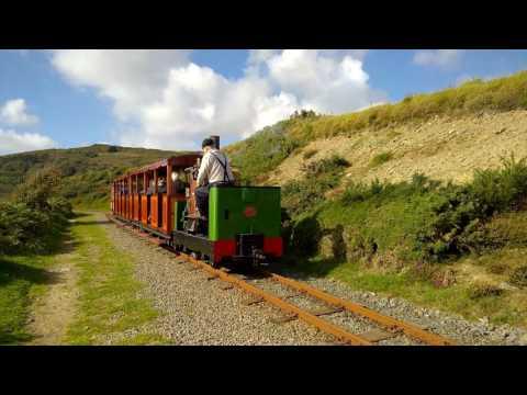 Groudle Glen Railway [4K]