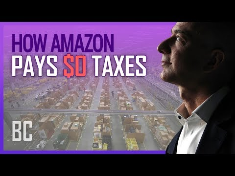 How Amazon (Legally) Pays $0 In Taxes
