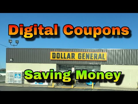 Dollar General Digital Coupons | Penny Shopping | DG coupons