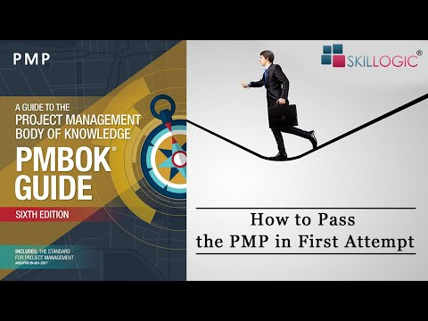 How to Pass PMP Exam (6th Edition) in First Attempt - SKILLOGIC®