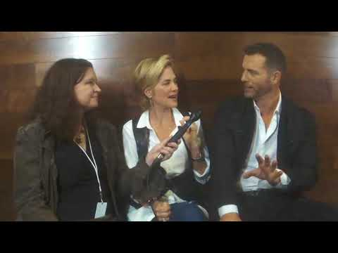 Kassie dePaiva and Eric Martsolf  OutTakes at Day of DAYS 2017