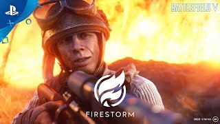 Battlefield V — Firestorm Gameplay Trailer: Battle Royale | PS4