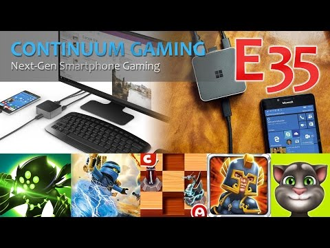 Microsoft Continuum Gaming: Let's Play 35! (Heart Box, Stone Aged, Magic Chess 3d)