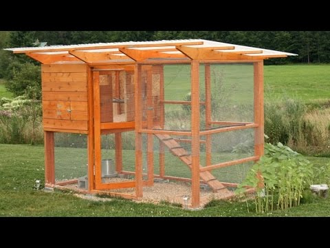 how to build a chicken coop hen house youtube. Black Bedroom Furniture Sets. Home Design Ideas