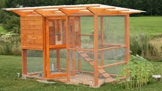 How To Build A Chicken Coop - Hen House