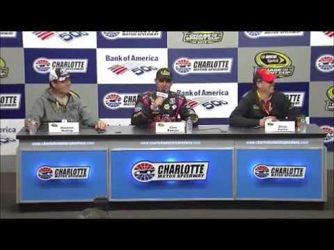 NASCAR Media Center Shenanigans