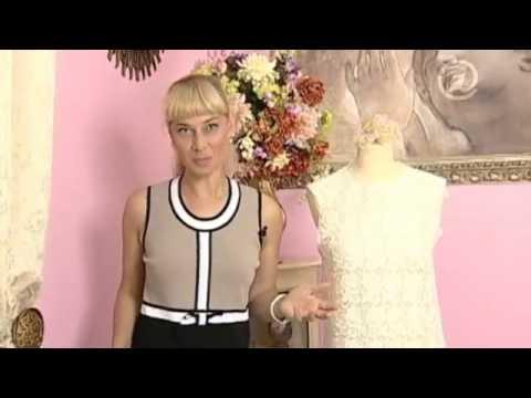 Ольга Никишичева | Блуза платье за полчаса