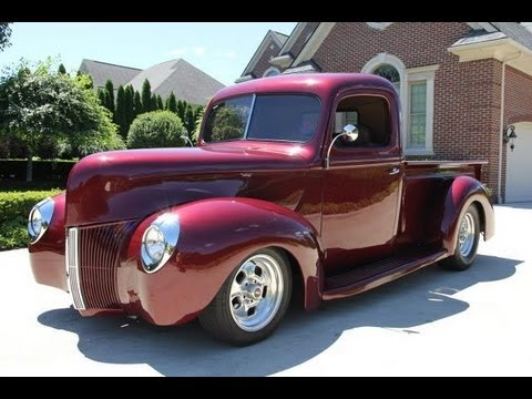 1940 ford pickup restomod classic muscle car for sale in mi vanguard motor sales youtube. Black Bedroom Furniture Sets. Home Design Ideas