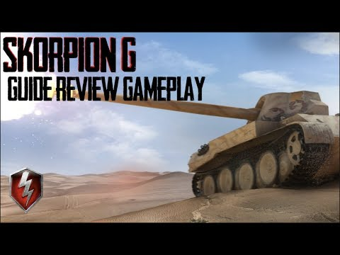 Skorpion G Guide Review Gameplay World of Tanks Blitz