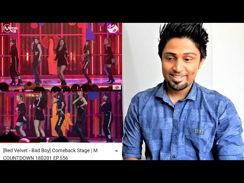[Red Velvet - Bad Boy] Comeback Stage | M COUNTDOWN 180201 EP.556 REACTION