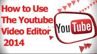 How to Use the Youtube Video Editor 2014(To use the YouTube Video Editor: - Log into your YouTube account and then type in https://www.youtube.com/editor - Get something that you download like ..., 2014-04-08T14:55:47.000Z)