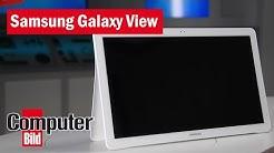 XXXXL-Tablet Samsung Galaxy View Hands-On: Wozu 18,5 Zoll?