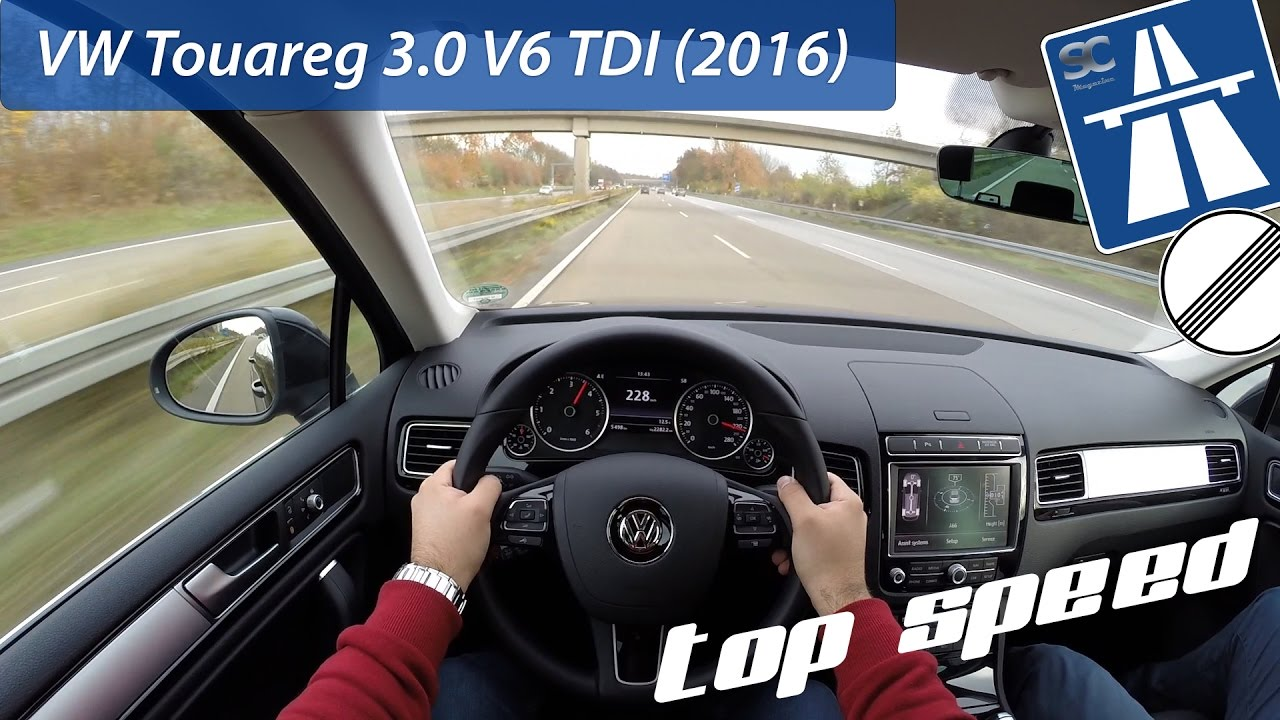 Best Cars Ever 2016 Volkswagen Touareg in Depth Review - YouTube