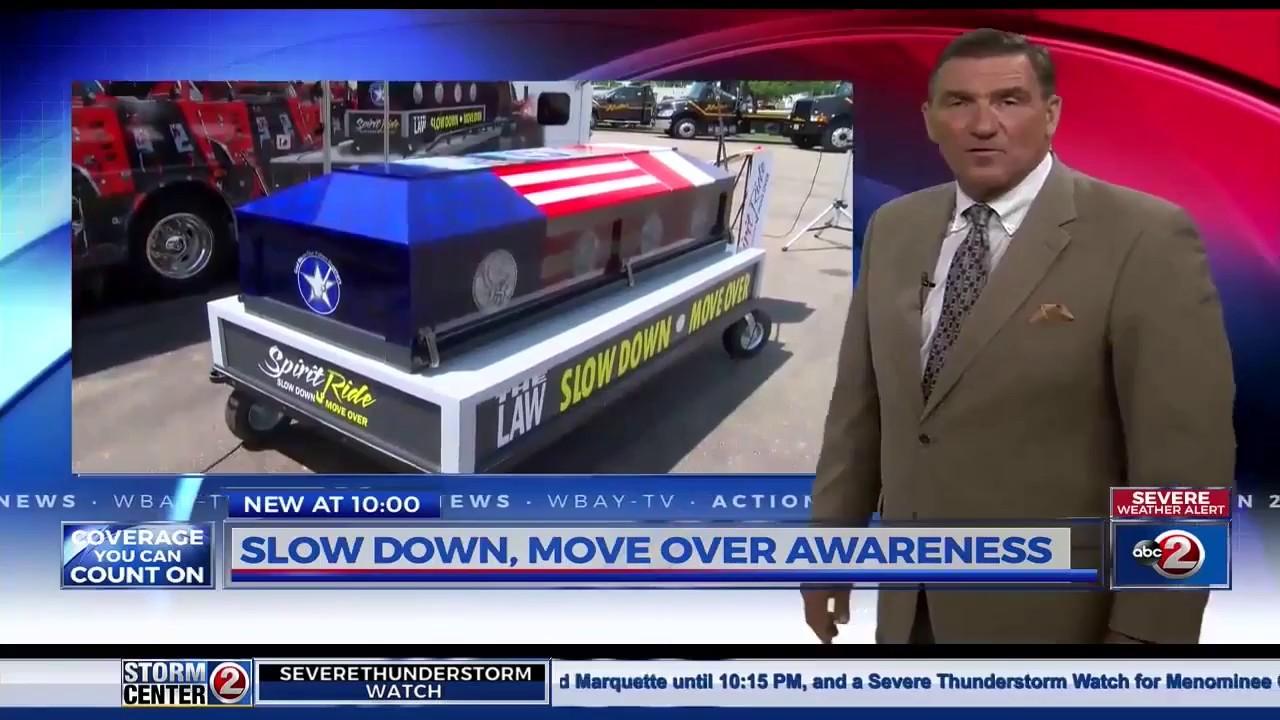 Slow Down, Move Over, National Spirit Ride stops in Oshkosh