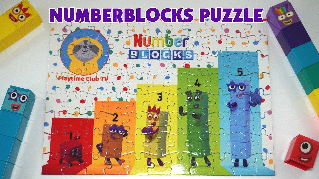 Numberblocks Puzzle l Playtime Club TV
